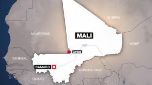 Le Mali et la Mauritanie partagent une longue frontière (illustration).