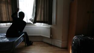 Ảnh chụp đăng trên báo The Guardian nói về số phận của các thiếu niên Việt Nam và nạn buôn người (Martin Godwin /guardian.co.uk)
