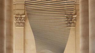 """""""L'onde du Midi"""" se inaugura el viernes en el Museo del Louvre de París."""