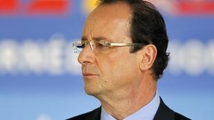 Newly-elected French President Francois Hollande