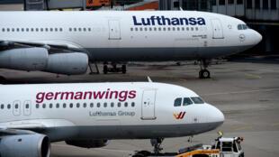 شرکت Germanwings  یکی از شرکتهای پائیندستی شرکت آلمانی Lufthansa میباشد که پروازهای ارزان قیمت را در مسافرتهای هوایی تأمین میکرده است.