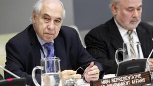 O embaixador Sérgio de Queiroz Duarte