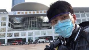 在武汉报道疫情真相的公民记者陈秋实