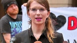 Chelsea Manning, in Alexandria, Virtinia, May 16, 2019
