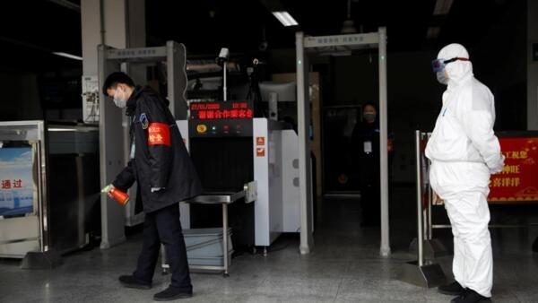 2020年1月27日北京地铁安检