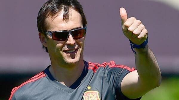 Julen Lopetegui foi demitido nesta quarta-feira (13) do cargo de técnico da seleção espanhola de futebol.
