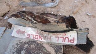 Destroços do avião espanhol da Air Algérie que caiu no Mali.