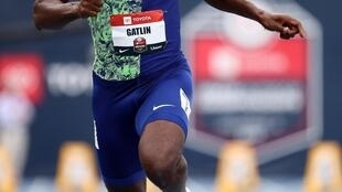 Justin Gatlin claimed the 100 metres crown at the 2017 World Championships in London.