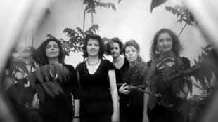 The five musicians met at a polyphonic chant workshop for women in 2015 and haven't looked back