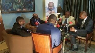 Enregistrement du Débat africain en marge du Forum Sultani Makutano à Kinshasa.