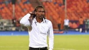 Aliou Cissé is attempting to lead Senegal to its first Africa Cup of Nations trophy.