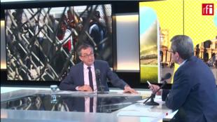 Juan Manuel Gómez Robledo, embajador de México en Francia en la emisión Escala en París, 3 abril 2019