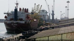 Le port de Cotonou, au Bénin (photo d'illustration).