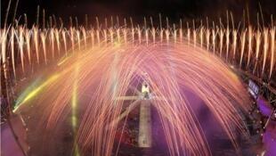 Церемония закрытия Олимпиады-2012 в Лондоне