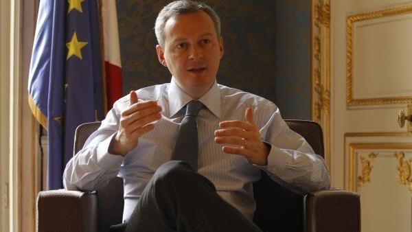 O ministro da Agricultura francês, Bruno Le Maire, em 17 de fevereiro de 2010.