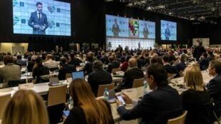 Пятая конференция WADA в Катовице, Польша, 5 ноября 2019.