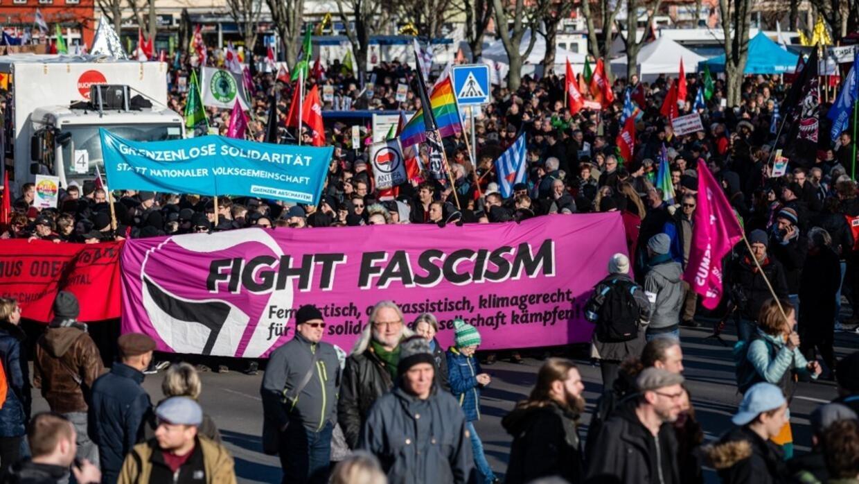 Allemagne: manifestation en Thuringe pour protester contre l'extrême-droite