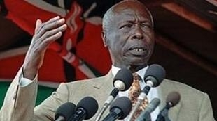 Former Kenyan president, Daniel arap Moi, who has passed away at the age of 95.