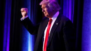 """El nuevo mandatario electo Donald Trump prometió que será """"el presidente de todos los estadounidenses"""". Aquí en Nueva York, este 9 de noviembre de 2016."""