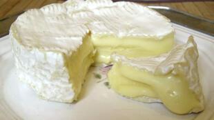 A very ripe Camembert cheese