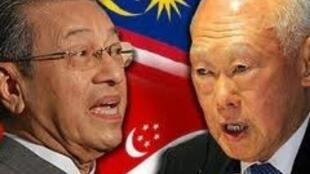 Mahathir Mohamad និង Lee Kuan Yew អ្នកប្រឆាំងនឹងលទ្ធិប្រជាធិបតេយ្យបែបបស្ចឹមលោក