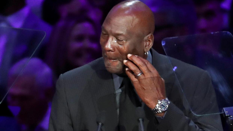 À la soirée d'hommage à Kobe Bryant et sa fille, les larmes de Michael Jordan