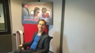 Olivier Rogez, grand reporter du service Afrique pour RFI, auteur de «L'Ivresse du sergent Dida», son premier roman.