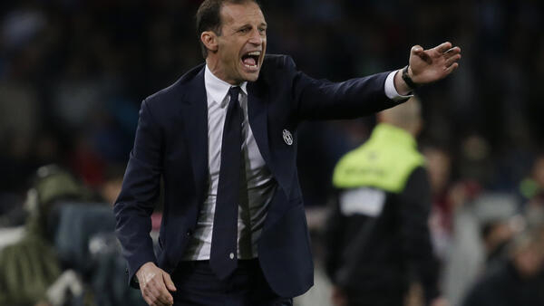 Massimo Allegri is trying to lead Juventus to a sixth straight Italian title.