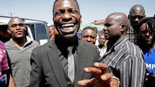 L'opposant et chanteur ougandais Bobi Wine.