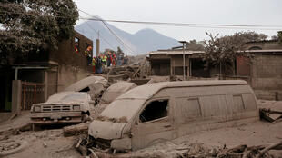 Aman wutan dutsen Fuego a kasar Guatemala