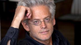 Portrait de l'écrivain Santiago Amigorena.