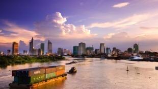 Hô Chi Minh-Ville au Vietnam (image d'illustration).