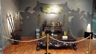 Cuộc triển lãm về Cải cách ruộng đất tại Viện Bảo tàng Lịch sử quốc gia tại Tràng Tiền, Hà Nội - DR