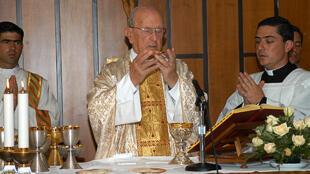Le fondateur des Légionnaires du Christ, le père Marcial Maciel à Mexico en 2006.