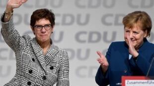 رهبر حزب دموکرات مسیحی آلمان و رقیب آینده آنگلا مرکل کناره گیری کرد