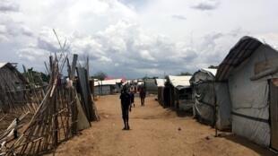 Aux abords de Juba, près de 40 000 personnes ont trouvé refuge dans les sites de protection des civiles. POC1, Juba 29 mars 2018.