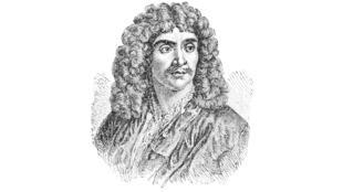 Gravure de Jean-Baptiste Poquelin dit «Molière».
