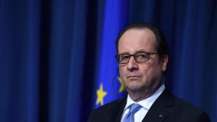 Президент Франции Франсуа Олланд, 21 июля 2016.