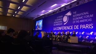 Debating globalisation at the Forum of the Americas in Paris