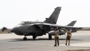 O Reino iniciou suas operações aéreas contra o grupo Estado Islâmico