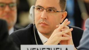 Хорхе Арреаса, глава МИД Венесуэлы