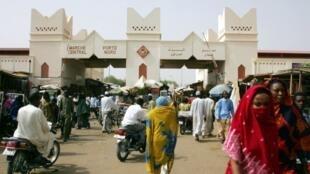 N'Djamena, la capitale du Tchad.