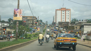 Douala in Cameroon
