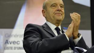 Alain Juppé, ex-primeiro-ministro francês