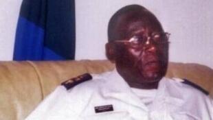 Foto do ex chefe do estado maior da marinha Bubo Na Tchuto