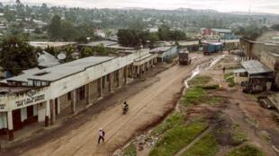 Une vue de la localité de Bunia, dans le nord-est de la RDC d'où provient la délégation demandant la dissolution de l'Assemblée provinciale d'Ituri (photo d'illustration).
