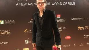 Cineasta português Marco Martins no Festival internacional de Macau a 14 de Dezembro de 2018.