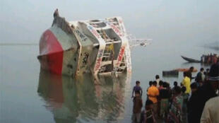 A Bangladesh ferry carrying more than 1,000 people capsized in November 2009.