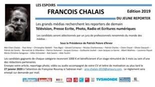 Prix des Jeunes reporters François Chalais