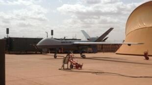 Drone «Reaper» usado pelo exército francês em missões no exterior.